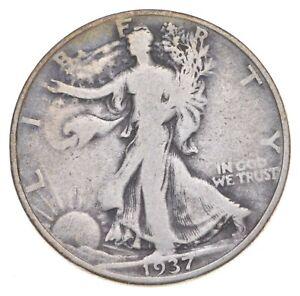 Better 1937-D - US Walking Liberty 90% Silver Half Dollar Coin Set Break *667