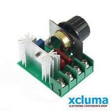 XCLUMA AC 220V 2000W SCR VOLTAGE REGULATOR DIMMERS SPEED CONTROL BE0398