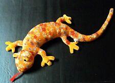 """Circus Circus Plush Salamander 26"""" Lizard Gecko Iguana Stuffed Animal Floral"""