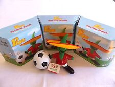 Set of 4 saving bank PIQUE the oficial WORLD CUP mascot MEXICO 1986