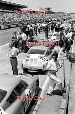 Herrmann & BARTH & sig PORSCHE 356B Abarth Le Mans 1962 fotografia 1
