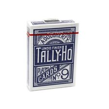 Tally Ho Circle Back Playing Cards - Blue