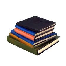 Maison de Poupées Pile Livres Miniature Bibliothèque Bureau École Accessoire