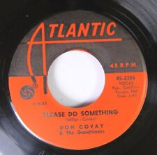 Soul Nm! Unplayed 45 Don Covay & The Goodtimers - Please Do Something / A Woman'