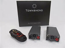 Townshend Audio black Supertweeters 12 months warranty.
