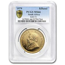 1979 South Africa 1 oz Gold Krugerrand MS-66 PCGS - SKU #114761