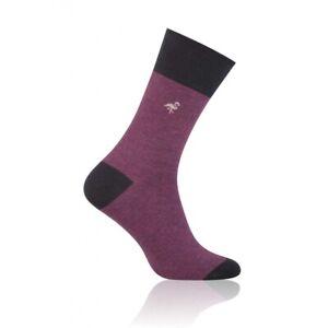 STRIPED Mens Coloured Cotton Rich Socks, Colourful Socks, Fun Socks