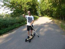 Longboard-Stick, Landpaddling-Stick, Onda Motion, Alu, Fitness, Rücken-Training