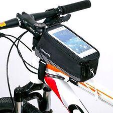 Premium Fahrradtasche Rahmentasche Oberrohrtasche Smartphone Handy Tasche Bag