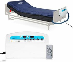 """Medical MedAir Low Air Loss Mattress Replacement System with Alarm, 8"""" with Quil"""