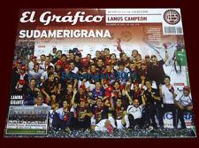 LANUS CHAMPION SUDAMERICANA CUP 2013 - El Grafico Magazine/Poster
