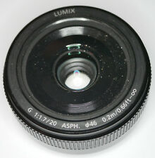Panasonic Lumix G 20 mm F/1.7 Aspherical II Objektiv