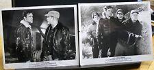 """2 VINTAGE 8""""X10"""" ORIGINAL PHOTO JOHN ERICSON THE BAMBOO SAUCER DURYEA NETTLETON"""