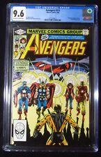 Avengers #217 (1982) CGC 9.6...Yellowjacket goes to prison...Egghead  app