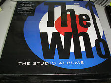 The Who - The Studio Albums LP box set new still sealed Polydor  limited edition