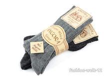 Angora-Wolle-Socken weich in 2er Set, Größe  35 - 46 Neu!