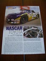 2000 NASCAR TOYOTA TRD  ***ORIGINAL  ARTICLE***