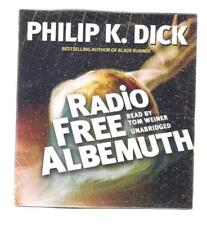 Radio Free Albemuth by Philip K. Dick (2012, CD, Unabridged) audiobook