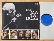 THE MATADORS CZECH SUPRAPHON LP: THE MATADORS (1971, RE;SUA ST 53992)