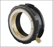 Canon EOS EF lens to Sony FZ-mount F5 F55 F3 positive lock ciecio7 adapter