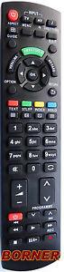 Ersatz Fernbedienung passend für Panasonic VIERA N2QAYB000487 NEU!