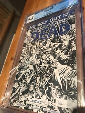 The Walking Dead #81 Comics Pro Sketch Variant Edition CGC 9.8 Rare!
