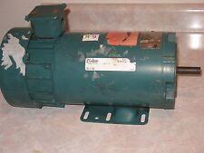Reliance Electric DC Motor 1 HP 100/200 Volts 1725 RPM Fr. FD56HC T56H1104P