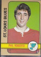 1972-73 TOPPS HOCKEY PHIL ROBERTO #52 BLUES EX+ *59137