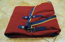 NEW Triple Crown, stable sheet, Burgundy, 76, MRSP $189 cooler blanket