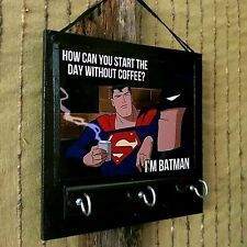 Wall Key Holders, Superman Batman Rack, Ear Phone Storage, Jewellery Organizer