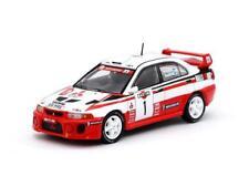 Tarmac Works Mitsubishi Lancer Evolution V Sanremo Rally 1998 #1 Winner