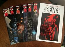 THE AGENCY #1-#6 Complete series, TOP COW/IMAGE 2001 Paul Jenkins/Kyle Hotz