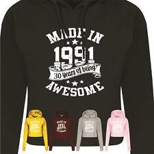 Ladies Hood Birthday 1991 Gift 30th Present Fun Wreaking Havoc Vintage Made Year