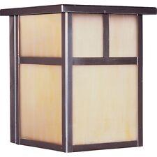 Maxim Coldwater 1-Light Outdoor Wall Lantern Burnished - 4050Hobu