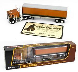 2021 DCP 1:64 *GOLD NUGGET* Kenworth K-100 COE w/40' Vintage DryGood Trailer NIB
