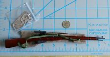 DID WWII Red Army sniper Koulikov wood n metal rifle 1/6 toys soviet Russian 3R