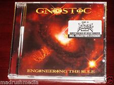 Gnostic: Engineering The Rule CD 2009 Atheist Season Of Mist Records SOM 206 NEW