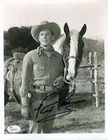 Rex Allen Jsa Coa Autograph 8x10 Photo Hand Signed Authentic