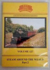 B & R 127 DVD Steam Around The Weald Part 2 Train Railway