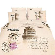 King size Duvet Cover Set - 6 Piece 100% Cotton, Dolce Mela Bedding Pisa DM494K