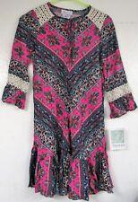 NEW w/tags Youth Kid Girl Size 12 Dress Colorful Bonnie Jean Fancy w/ Lace