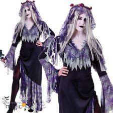 Déguisements robes noires pour femme zombie