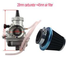 VM24 Mikuni 28mm Carburetor For Yamaha TTR125 KLX + 45MM Air Filter 125cc 138cc