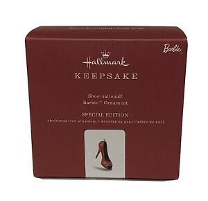 Shoe-Sational Barbie Hallmark 2018 Barbie ornament Special Edition