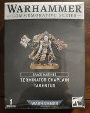 Warhammer 40k Commemorative Series: Terminator Chaplain Tarentus - New In Box