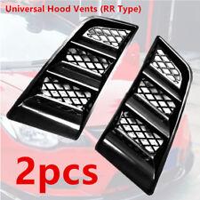 2x Magical Auto Car Hood Vents Scoop Bonnet Universal Air Flow Vent Duct RR Type