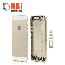 iPhone 5S Gold / White New Replacement Metal Back Housing Cover Case