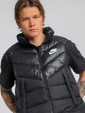 9047265ad4 Nike Sportswear Windrunner Down Fill Gilet Vest Black 928859-010 Men s Large