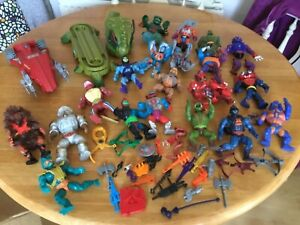Rare Vintage Mattel  Job Lot Figures / Accessories MOTU He Man 1980s