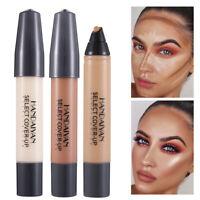 HANDAIYAN Liquid Foundation Concealer Pen Highlighter Acne Covering Faces Makeup